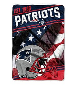 Northwest Copmany NFL® New England Patriots Stagger Micro Oversize Throw