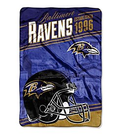 Northwest Company NFL® Baltimore Ravens Stagger Micro Oversize Throw