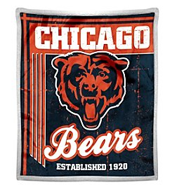 Northwest Company NFL® Chicago Bears Mink Sherpa Throw