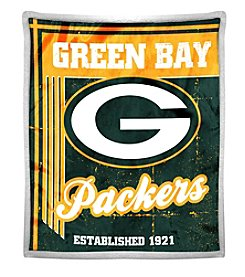Northwest Company NFL® Green Bay Packers Mink Sherpa Throw