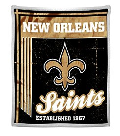 Northwest Company NFL® New Orleans Saints Mink Sherpa Throw