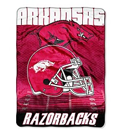 Northwest Company NCAA® Arkansas Razorbacks Overtime Micro Fleece Throw