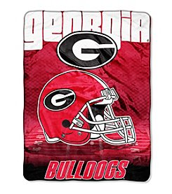 Northwest Company NCAA® Georgia Bulldogs Overtime Micro Fleece Throw