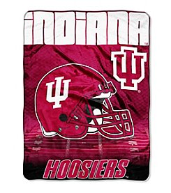 Northwest Company NCAA® Indiana Hoosiers Overtime Micro Fleece Throw
