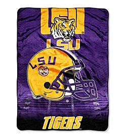 Northwest Company NCAA® LSU Tigers Overtime Micro Fleece Throw