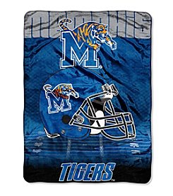 Northwest Company NCAA® Memphis Tigers Overtime Micro Fleece Throw
