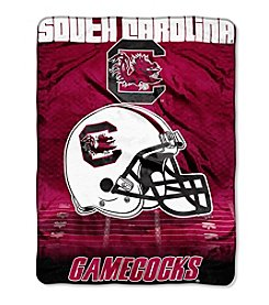 Northwest Company NCAA® South Carolina Gamecocks Overtime Micro Fleece Throw