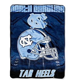 Northwest Company NCAA® UNC Tar Heels Overtime Micro Fleece Throw