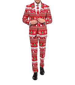 OppoSuits Men's Winter Wonderland Suit