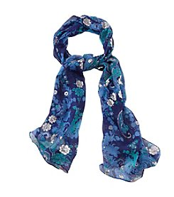 Collection 18 Paisley Floral Scarf