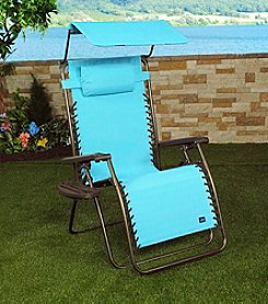 Bliss Hammocks XL Gravity Free Recliner with Pillow & Tray