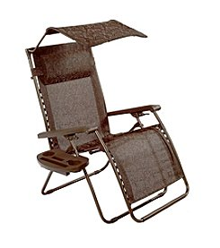 Bliss Hammocks Deluxe XL Gravity Free Recliner with Pillow & Tray