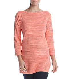 Eight Eight Eight® Space Dye Boat Neck Top