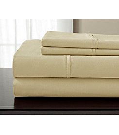 Elite Home Products 800-Thread Count Luxury Manor Solid Sheet Set
