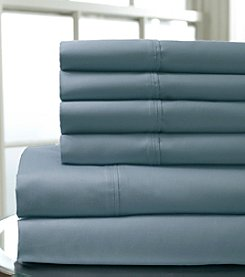 Elite Home Products 6-Pc. 400-Thread Count Regency Sheet Set