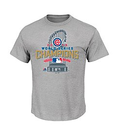 Majestic MLB® Chicago Cubs World Series Champions Short Sleeve Tee