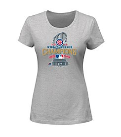 Majestic MLB® Chicago Cubs Women's World Series Champions Tee