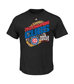 Majestic MLB® Men's Big & Tall Chicago Cubs Men's 2016 World Series Parade Tee