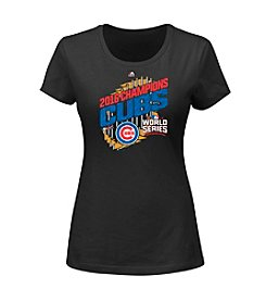 Majestic MLB® Chicago Cubs Women's World Series Parade Tee