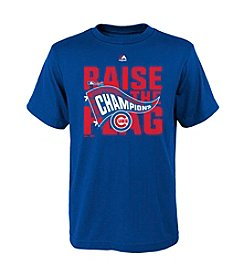 Majestic MLB® Chicago Cubs Kids' League Champions Locker Room Tee