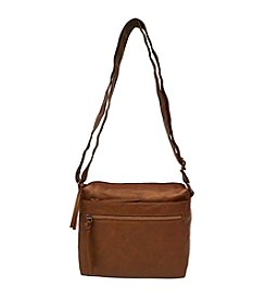 GAL Washed Mutli Zip Crossbody