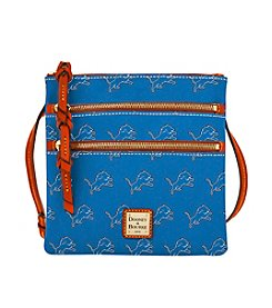 Dooney & Bourke® NFL® Detroit Lions Triple Zip Crossbody