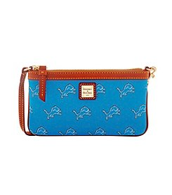 Dooney & Bourke® NFL® Detroit Lions Large Slim Wristlet
