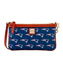 Dooney & Bourke® NFL® New England Patriots Large Slim Wristlet