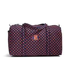 Vera Bradley&reg NCAA® Syracuse Orange Large Duffel Travel Bag