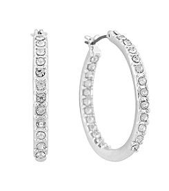 Gloria Vanderbilt™ Large Inside Out Hoop Earrings