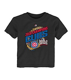 Majestic MLB® Chicago Cubs Kids' 2T-4T World Series Parade Tee