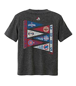 Majestic MLB® Chicago Cubs Kids' 2T-4T Wave The Pennant Tee