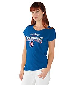 Majestic® MLB® Chicago Cubs Women's Fashion Tee