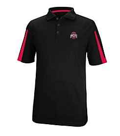 J. America® NCAA® Ohio State Buckeyes Men's Color Blocked Polo