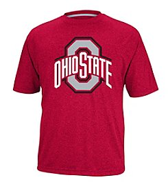 J. America® NCAA® Ohio State Buckeyes Men's Heathered Short Sleeve Tee