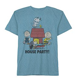 Men's Peanuts House Party Short Sleeve Tee