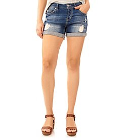 Wallflower® Destructed Tomboy Shorts