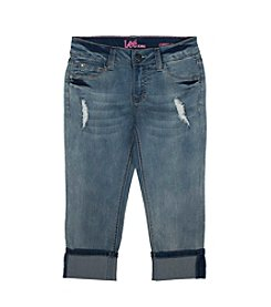 Lee® Girls' 7-16 Sophia Cropped Jeans