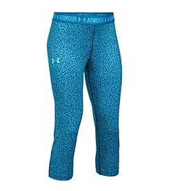 Under Armour® Girls' 7-16 Printed Armour Capri