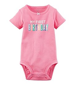 Carter's® Baby Girls' First Birthday Bodysuit