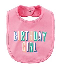 Carter's® Baby Girls' Birthday Girl Bib