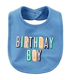 Carter's® Baby Boys' Birthday Boy Bib