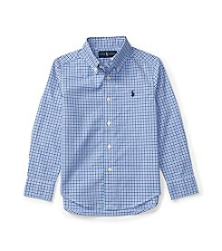 Polo Ralph Lauren® Boys' 2T-7 Button-Down Plaid Shirt