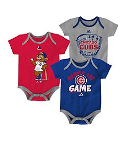 Majestic Baby Outerstuff MLB® Chicago Cubs Baby Small Fan 3-Piece Set