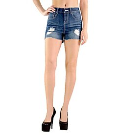 Standard & Practices Eva High Waist Cut-Off Shorts