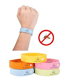 Pure Garden Pack of 5 Mosquito Repellent Wristbands