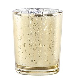 Kate Aspen Set of 12 Gold Mercury Glass Votives