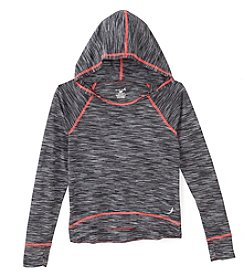 Exertek® Girls' 7-16 Long Sleeve Space Dye Hoodie
