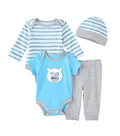Cuddle Bear® Baby Boys' 4 Piece Bear Gifting Set