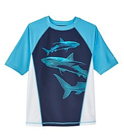 Exertek® Boys' 8-20 Short Sleeve Rashguard Top